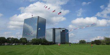 Kite Flags, Glenwood Plaza