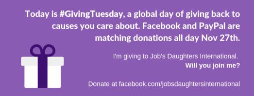 #GivingTuesday FB cover